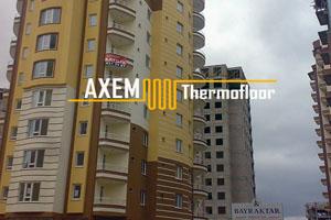 Bayraktar İnşaat Apartman - Kalorimetre Sistemi - Kayseri
