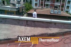 Hamdi Altınok Evi - Kar Buz Eritme Sistemi - Kayseri