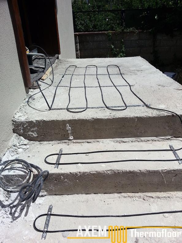 Metin Ergüneş Evi 2 - Merdiven Isıtma Sistemi - Kayseri