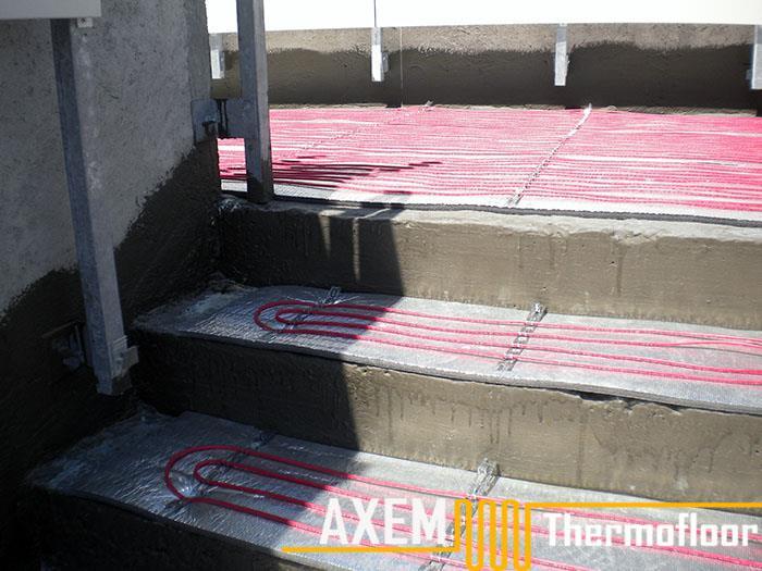 İbrahim Boydak Villası - Merdiven Isıtma Sistemi - Kayseri