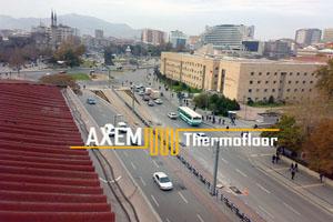 Ak Plaza İş Merkezi - Yerden Isıtma Sistemleri - Kayseri