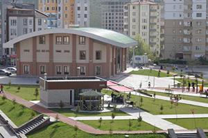 Belediye Sosyal Tesis - Yerden Isıtma Sistemi - Kayseri