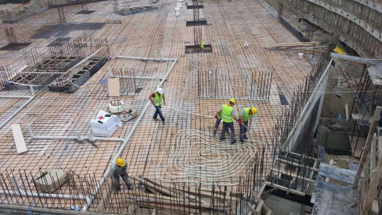Sincan Tapu Binası - Beton Isısı Kontrolü